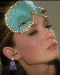 The Impeccable Audrey Hepburn in 'Breakfast At Tiffany's' - Wearing Timeless, Flawless Make-Up !!
