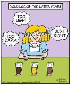 Mystery Fanfare: Cartoon of the Day: Goldilocks: the Later Years More Beer, Wine And Beer, Beer Humor, Food Humor, You Funny, Funny Stuff, Funny Things, Hilarious, Beer Snob