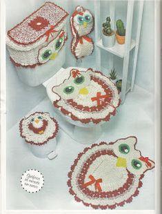 Mania de Tricotar: Tapetes e Jogos de banheiro  https://mania-de-tricotar.blogspot.com.br/search/label/Tapetes%20e%20Jogos%20de%20banheiro