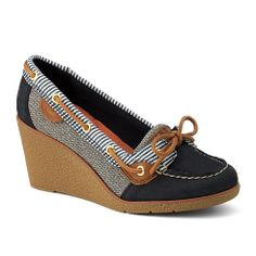 Sperry HEELS -- just bought these!! Can't wait to ROCK'em!!!!!! #vanmaurclearance