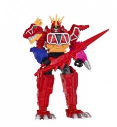 Power Rangers Dino Charge cm Megazord Action Figure by Power Rangers - Shop Online for Toys in Australia