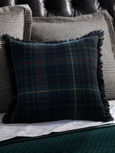 Devonshire Tartan Pillow - Ralph Lauren Home Throw Pillows - RalphLauren.com