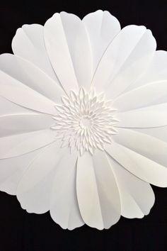 Flores de papel gigantes de 3 ft para la decoración por comeuppance