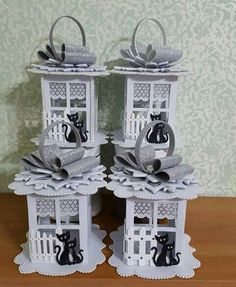 Xmas Crafts, Diy And Crafts, Arts And Crafts, Paper Crafts, Christmas Decorations, Christmas Ornaments, Holiday Decor, 3d Craft, Lanterns Decor