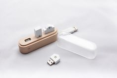 Nice USB hub. Maison by Suhyun Yoo, via Behance