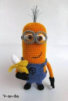 Crochet minions!!