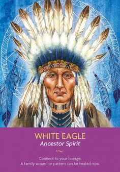 Take some time to honour just how far you have come. You have or have recently had an opportunity to heal an old family wound or pattern. It's important to connect with your family in spirit so that you can set a new energy of love in place. White Eagle is bringing your ancestors through to you and allowing you to know that they are happy and well.