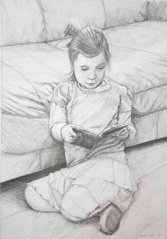 'Ricky' by Keren Keet. Pencil on paper, 36cm x 51cm