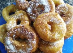 Rosquillas de nata para #Mycook http://www.mycook.es/cocina/receta/rosquillas-de-nata