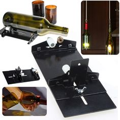 Stainless Steel Bottles Cutter DIY Tools Glass Wine Beer Cutter Machine for Construction Tool Mayitr #Affiliate