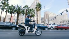 Mahindra's all-electric scooter, the Genze 2.0 — CES 2016