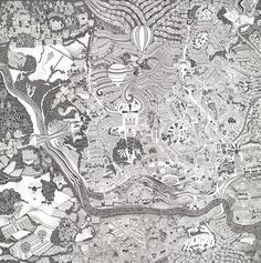 Hand drawn map of Bristol, UKLimited edition Giclée fine art print on cotton archival paper, 900mm x 900mm. Edition size 250. Printed by Hello Blue, Bristol. Signed and numbered by artist.Please contact hello@fullermaps.com for international orders.