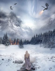 Ice and Fire by debNise.deviantart.com on @DeviantArt
