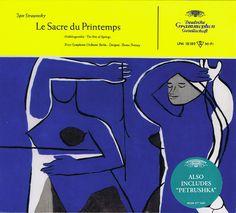 Stravinsky Le sacre du printemps • Petrouchka - Lehmann Deutsche Grammophon CD