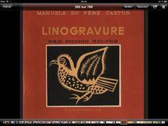 146. LINOGRAVURE Pierre Belvès 1947