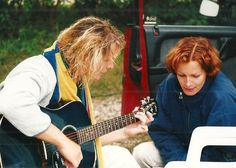 Mit Musik geht alles besser! Während der Ausbildungszeit zur Wassersporttrainerin auf der Insel Fehmarn.