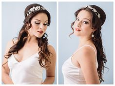 half up half down wedding hair with loose curls ~  we ❤ this! moncheribridals.com