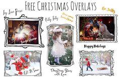 DLOLLEYS HELP: Free Christmas Word Overlays
