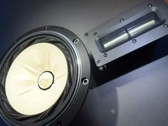 "Fostex FE208EZ 8"" Full Range Sigma Series + Fountek NeoCd2.0M 5"" Ribbon Tweeter"
