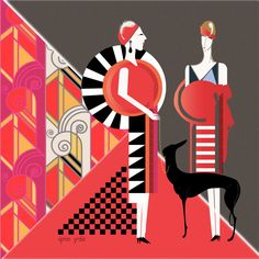 """Art Deco was at its peak of popularity in the 20s and 30s between the two World Wars,"" says Nusim. ""It started in Paris after World War I when the French ..."