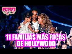 LAS 11 FAMILIAS más RICAS de HOLLYWOOD - YouTube
