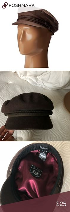 Brown Britton Fiddler Cap Chocolate brown. Size small. Worn once  Tags: Revolve, Free People, For Love & Lemons, Lulus, BLANKNYC, Tularosa, BB Dakota, Urban Outfitters, Missguided, Nastygal, NBD, LF, Brandy Melville Brixton Accessories Hats