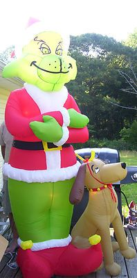 How The Grinch Stole Christmas Airblown Inflatable Decor #18250-00 ...