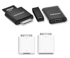 갤럭시탭과 아이패드의 USB/SD카드 커넥션킷..삼성이 모양새와 기능, 크기 뭐 완전히 따라한 모양새