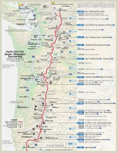 pct plan with dates and places and where resupplies are happening etc...