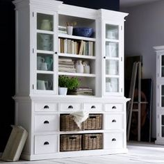 Our glorious Buffet & Hutch that's perfect for living, dining or a rumpus space  #Halifax #Hamptons #hamptonstyle #coastalstyle #whitefurniture #storage #novasolofurniture #novasoloaustralia #iwannagohome