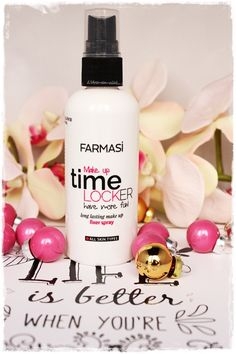 Farmasi Makeup Time Locker Fixer Spray -Makyaj Sabitleme Spreyi / L'Arc-en-ciel