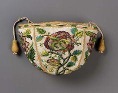 Round drawstring bag | Museum of Fine Arts, Boston