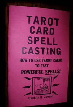 Tarot card Spell casting book how to use tarot cards to cast POWERFUL SPELLS on Etsy, £6.96