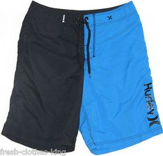 Hurley Shorts New Boys To Be Cool Blue Water Board Size 31