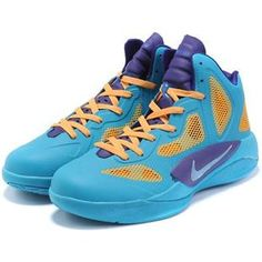 www.asneakers4u.com Nike Zoom Hyperfuse 2011 Blue/Glow Orange/Purple