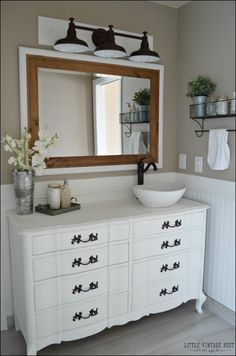 Image result for farmhouse bathroom sinks