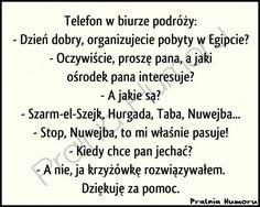 Tak się rozwiązuje krzyżówki Good Mood, Haha, Jokes, Thoughts, Humor, Funny, Diy, Polish Sayings, Husky Jokes