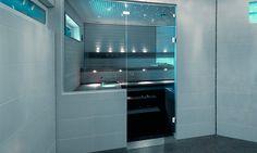Cello Spa Life -saunalasit - K-rauta Sauna Lights, French Door Refrigerator, Cello, Bathroom Inspiration, French Doors, Bathroom Lighting, Blinds, Spa, Kitchen Appliances