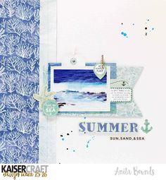 Summer+-+Kaisercraft+DT - Scrapbook.com