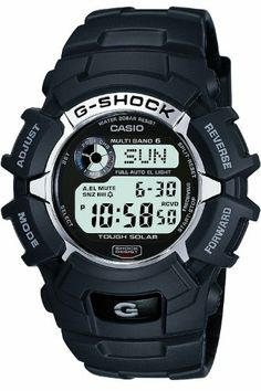 G-Shock Men's Quartz Watch with Grey Dial Digital Display and Black Resin Strap GW-2310-1ER: G-Shock: Amazon.co.uk: Watches