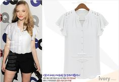 Aliexpress.com : Buy 2015 Summer Women Sweet Blouses Hollow Out Shirts Short Sleeve V Neck Pullover Shirts Elegant Chiffon Shirts Hot Sale EC9134 from Reliable blouse style suppliers on Friends of the Shanghai International Trade Co. Creek | Alibaba Group