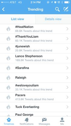 #thankyouliam and #weloveyouliam are  trending!!