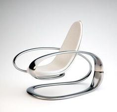 If i ever sit in this i will need to be wearing headphones listening to Dubstep while sitting in front of a 70 inch 3D tv watching a movie of flying through Space at light speed...  Phillip Grass, modern chair, futuristic furniture, futuristic armchair