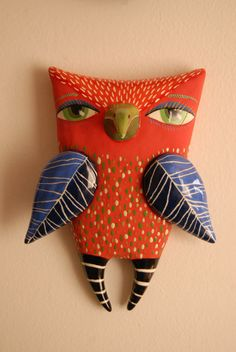 'Red Owl' from Natalya Sots