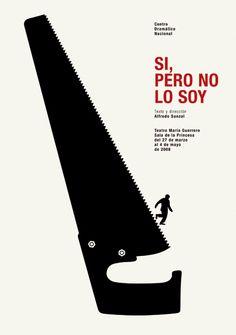 MANY MANY inspiring posters ------------------------------------------- Centro Dramático Nacional : Isidro Ferrer