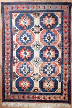 This beautiful Handmade Knotted Rectangular rug is approximately 7 x 10 New Contemporary area rug from our large collection of handmade area rugs with Turkoman style from Turkey with Wool