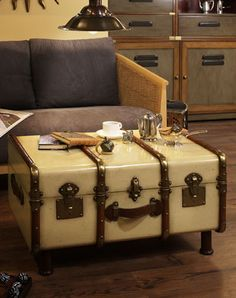 Stateroom Trunk Table so cute