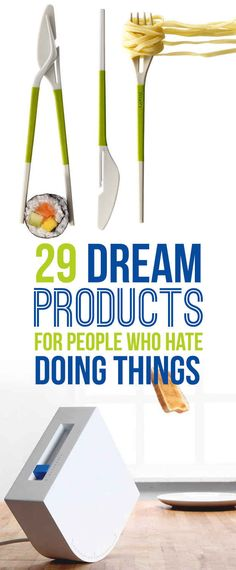 29 Dream Products For People Who Love Not Doing Stuff - unique gifts to give or for yourself! I want them all! :)