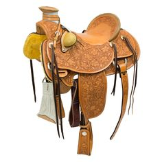 """16"""" BILLY COOK WADE RANCH SADDLE"""