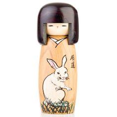 Year of the Rabbit Birthday Kokeshi Doll